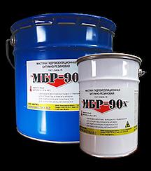 Мастика гидроизоляционная битумно-резиноваяМастика гидроизоляционная битумно-резиновая МБР-90х